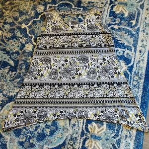 db sleeveless dress blouse,sz.small, EUC